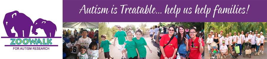 10th Annual Zoowalk for Autism Research - Saturday, October 4, 2014
